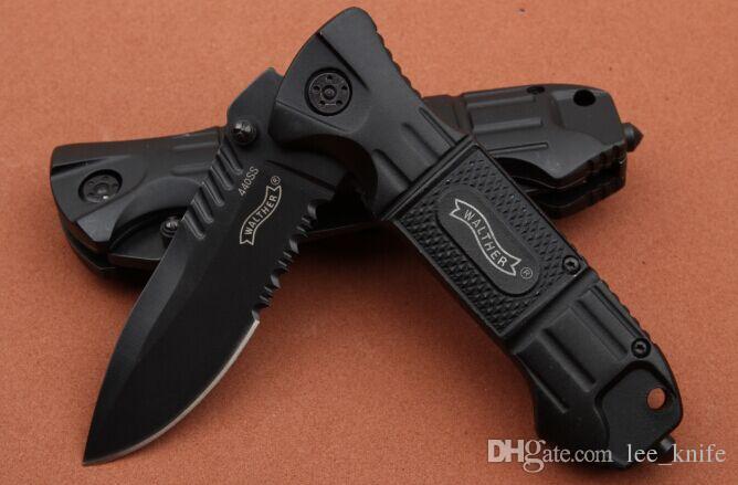 Coltello pieghevole alto Karl ricomposto nella schiena. SWAT II 56HRC manico coltello da caccia pieghevole in acciaio 440SS D2 zt 1 pz spedizione gratuita