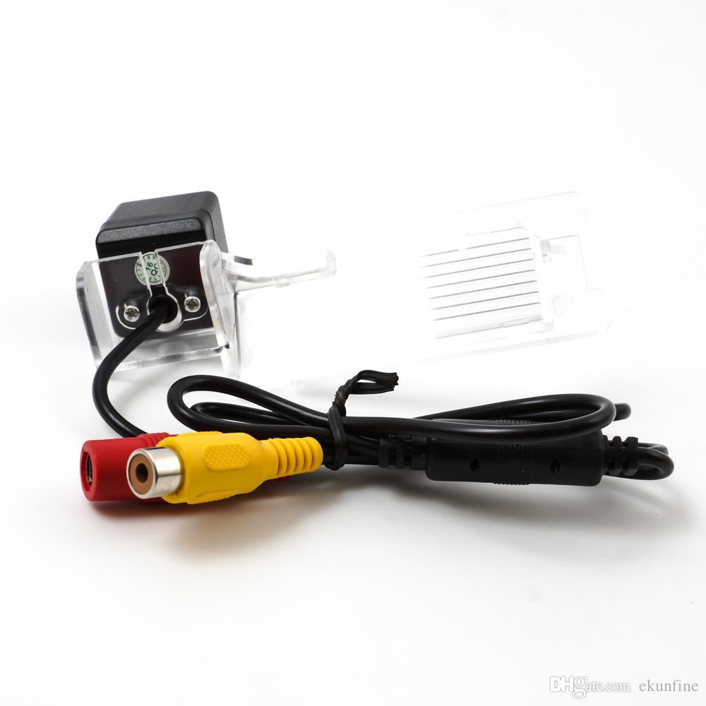 Telecamera retrovisione CCD Audi A4L TT A5 Q5 09-12 Telecamera di assistenza al parcheggio Linea di guida Visione notturna Luce a LED Impermeabile KF-V1186L