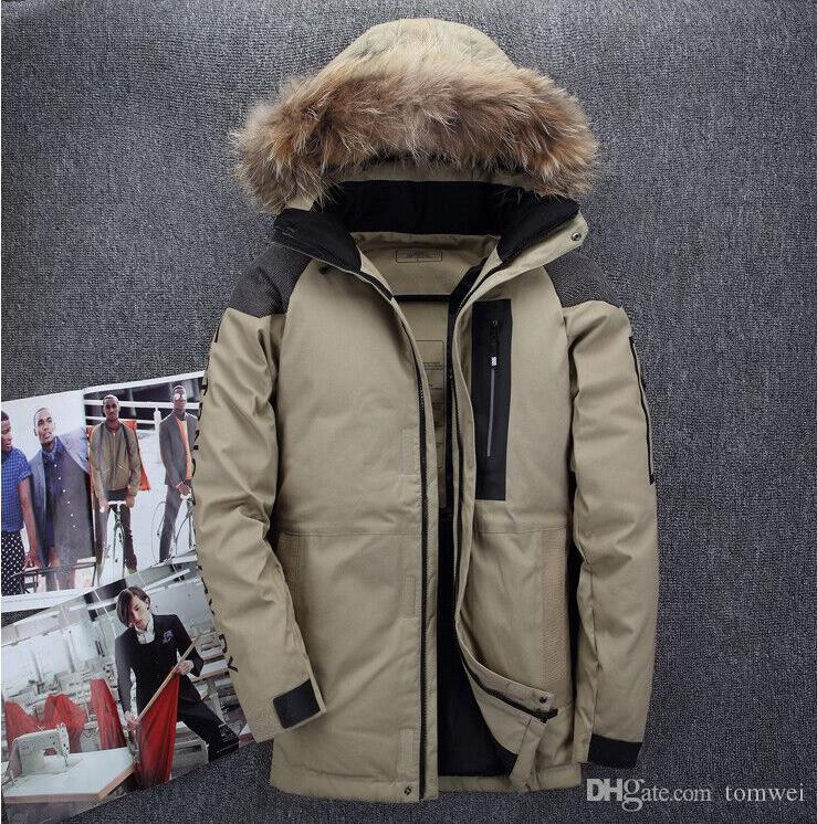 2a20cee19973a 2019 Mens Down Jacket Duck Down Coats Hoodies Snow Parkas Outwear Overcoat  Tops Waterproof Windbreaker Outdoor Clothes Plus Size From Tomwei