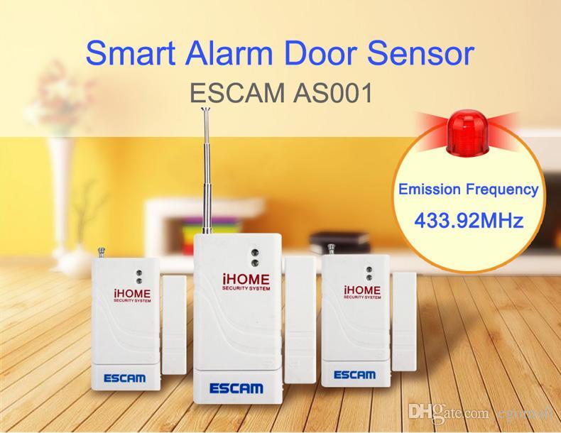 Escam Tür Fenster Wireless Alarmanlage mit Magnetsensor Home Sicherheit Länger System Security Device Weiß Großhandel