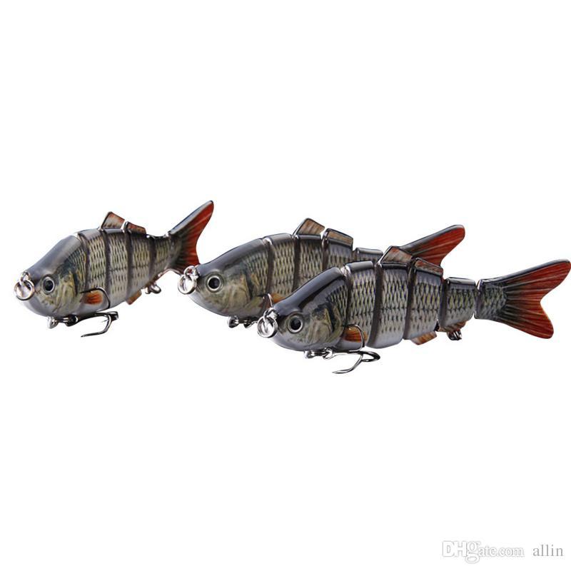 Trasporto di goccia Nuovo Minnow Esche da pesca Crank Bait Ganci Bass Crankbaits Affondare Affondamento Popper Richiamo di pesca di alta qualità