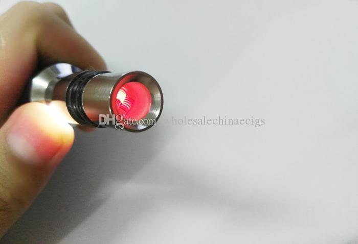 Aggiornamento Dual coil in cera cannone vaporizzatore atomizzatore vape doppia bobina dual coil Quarzo Ceramic rod wax Glass globe metal vase cartomizer