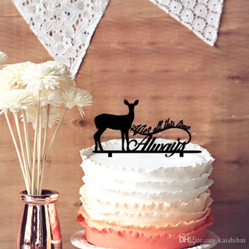 Grosshandel Romantische Hochzeitstag Kuchen Toppers Harry Potter