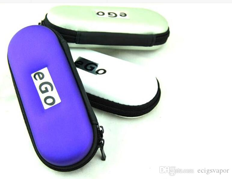 eGo cas de fermeture à glissière en cuir sac de transport pour les cigarettes électroniques ugo evod vision spinner 2 kits de démarrage coloré fermeture éclair L / M / S taille DHL