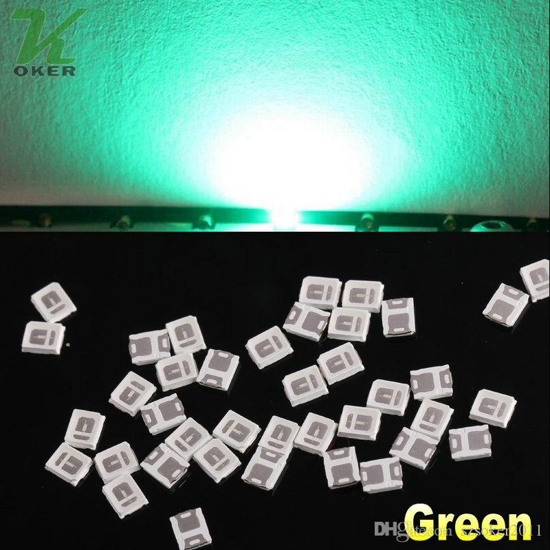 0.1W SMD 2835 SMD LED verde della lampada LED SMD 2835 SMD ultra luminoso Trasporto libero