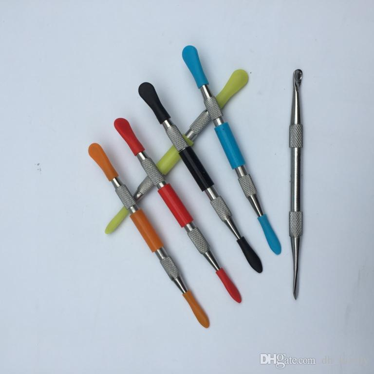 воск dabber инструмент воск атомайзер нержавеющей стали dab инструмент титана ногтей dabber инструмент сухой травы испаритель ручка dabber инструменты