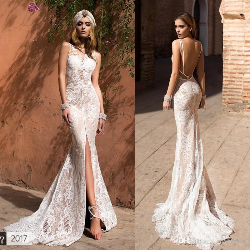 compre llorenzorossib ridal 2016 front split vestidos de novia