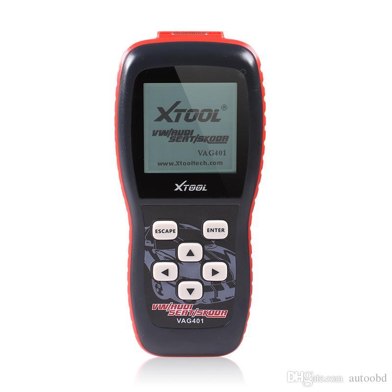 XTOOL VAG401 OBD2 Scanner de diagnostic pour audi / VW / Skoda / Seat VAG 401 Lecteur de code OBDII ABS SRS moteur dhl livraison gratuite