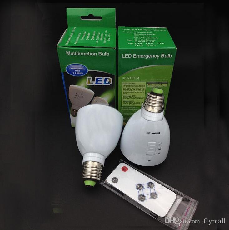 Bombilla Extensible Regulable Multifuncional 5W Recargable E27 Linterna Luz De Remoto Portátil Emergencia Lámpara De Bombilla A Control B22 Compre LED sCrdthQ