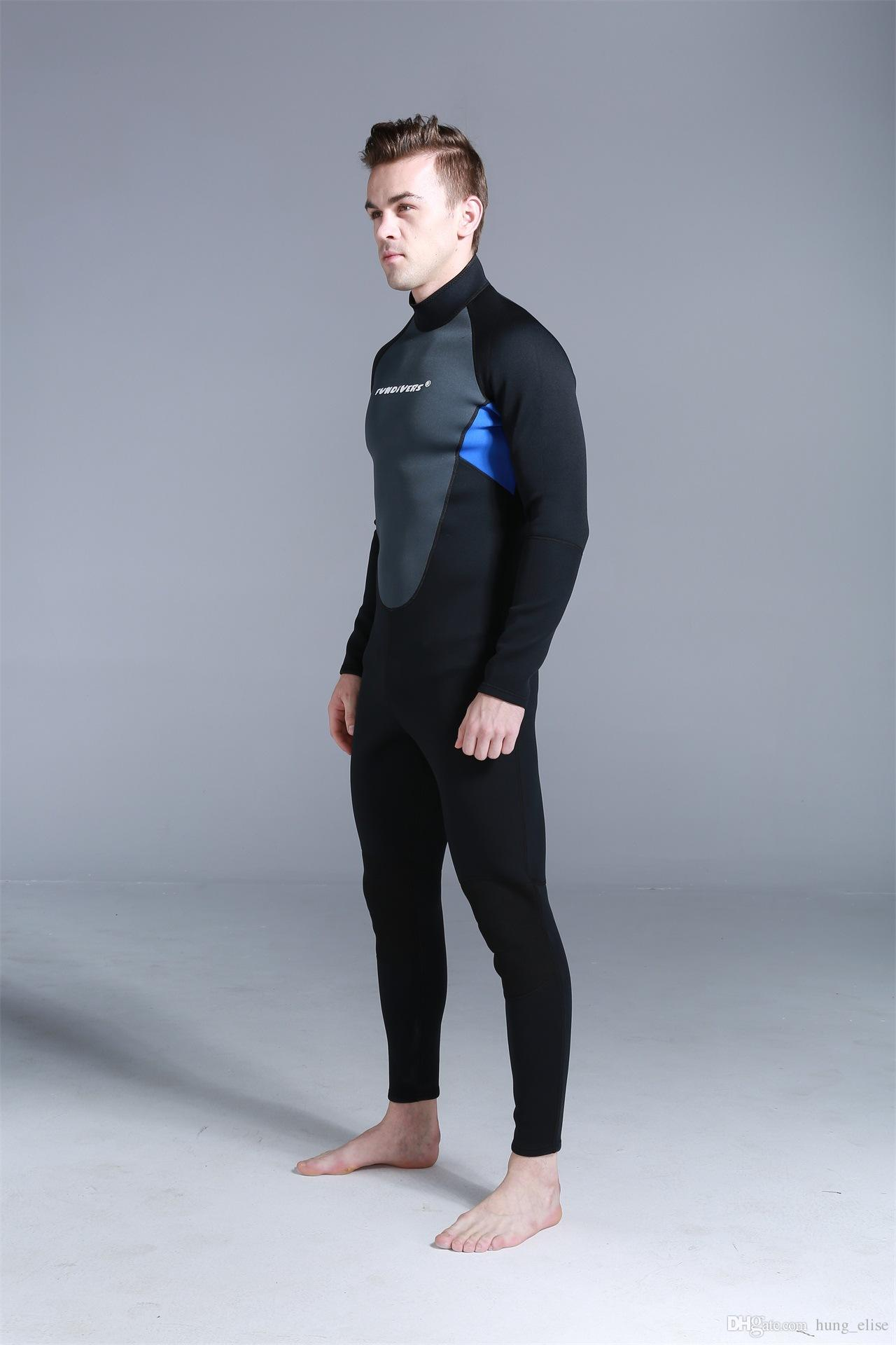 3mm SCR Scuba Dive Wetsuit For Men Spearfishing Wet Suit Surf Diving Equipment Suits Spear Fishing S-3XL