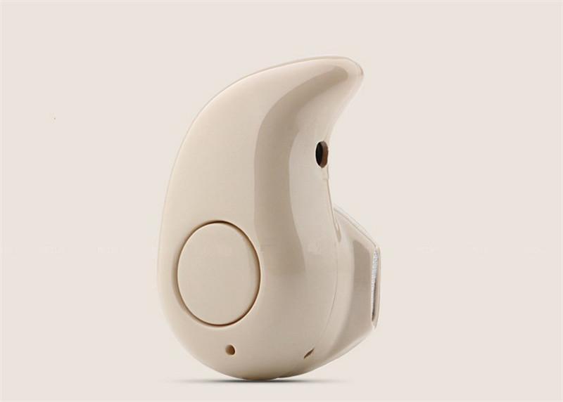 Gold Sport Running S530 Mini Stealth Cuffie stereo senza fili Bluetooth 4.0 Auricolari Cuffie la vendita al dettaglio