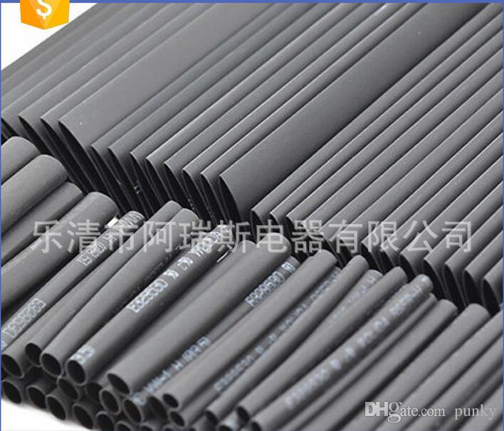 2: 1 Polyolefin Heat Shrink Tubing Cable Tube Sleeving Kit Wrap Wire Set