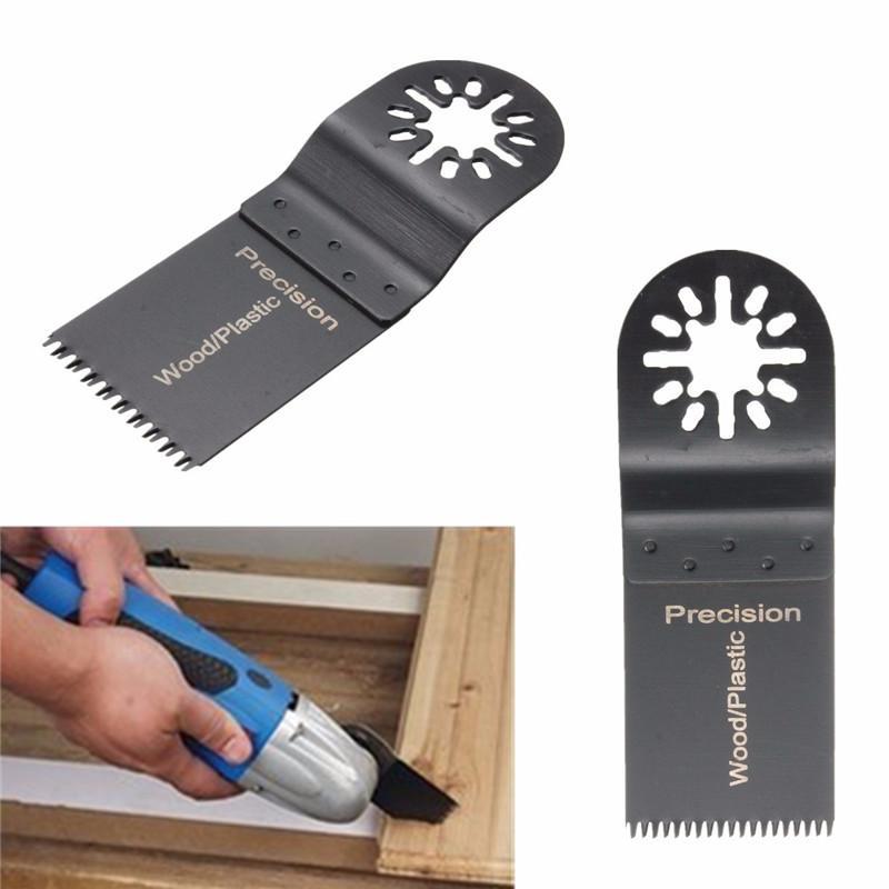 En Kaliteli 48 Adet / takım Mix Salınan Aracı Testere Bıçakları Eşleştirme Seti Kiti Için Ahşap Yumuşak Plastik Alçıpan Fiberglas Sunta