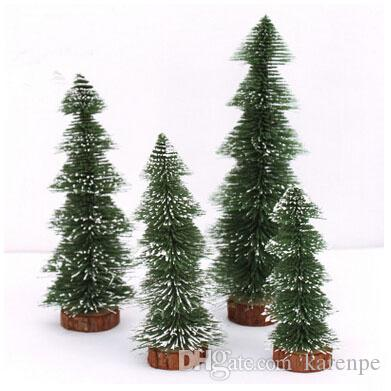 christmas ornaments cedar xmas decoration mini plastic christmas tree arvore de natal artificial high quality christmas trees christmas decorations - Mini Fake Christmas Tree