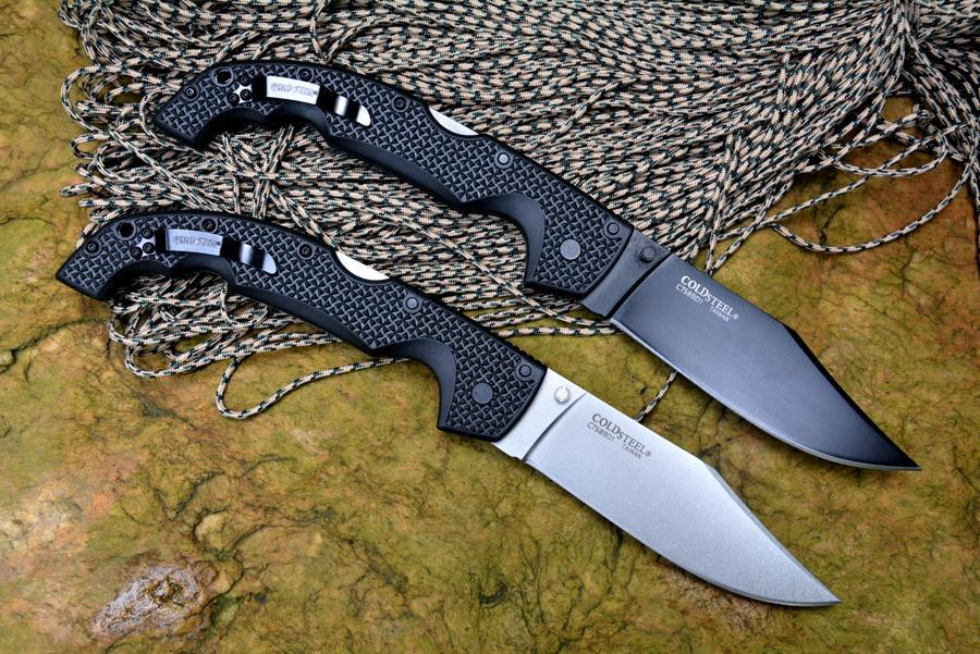 Cold steel VOYAGER folding knives with 440C blade Nylon handle outdoor camping hunting pocket knife EDC tools