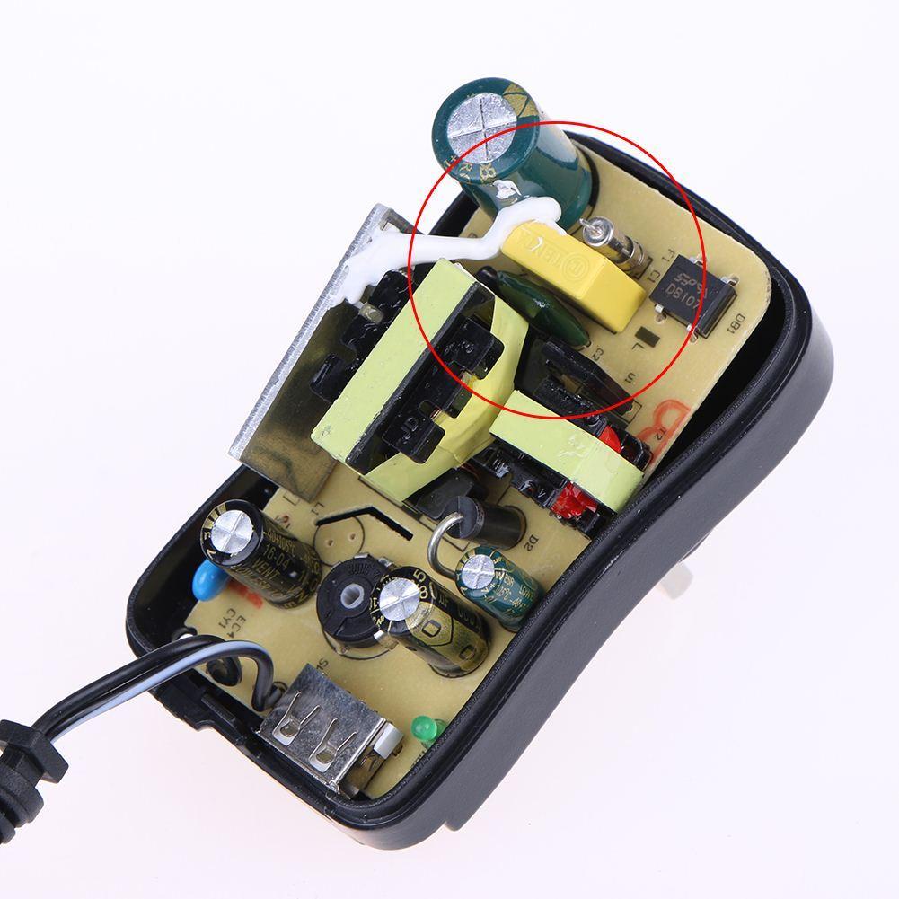 30W AC 100-240V DC 3V/4V/5V/6V/7.5V/9V/12V Power Adapter Charger Adaptor with 6 Type Plug and USB Output US EU UK Standard Plug