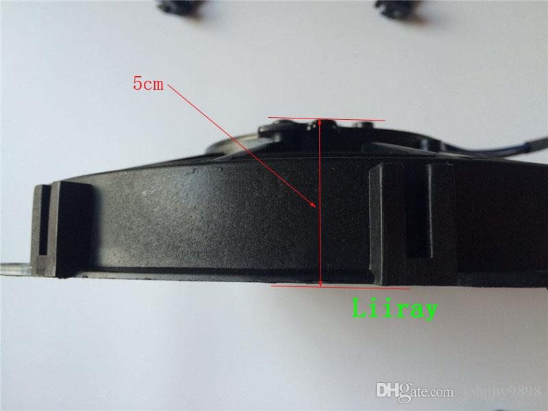 "9"" 9 inch 10 blades Auto air conditioning / ac electric fan 12V 80Watt Inhalation fan for mini lorry,minibus,condenser"