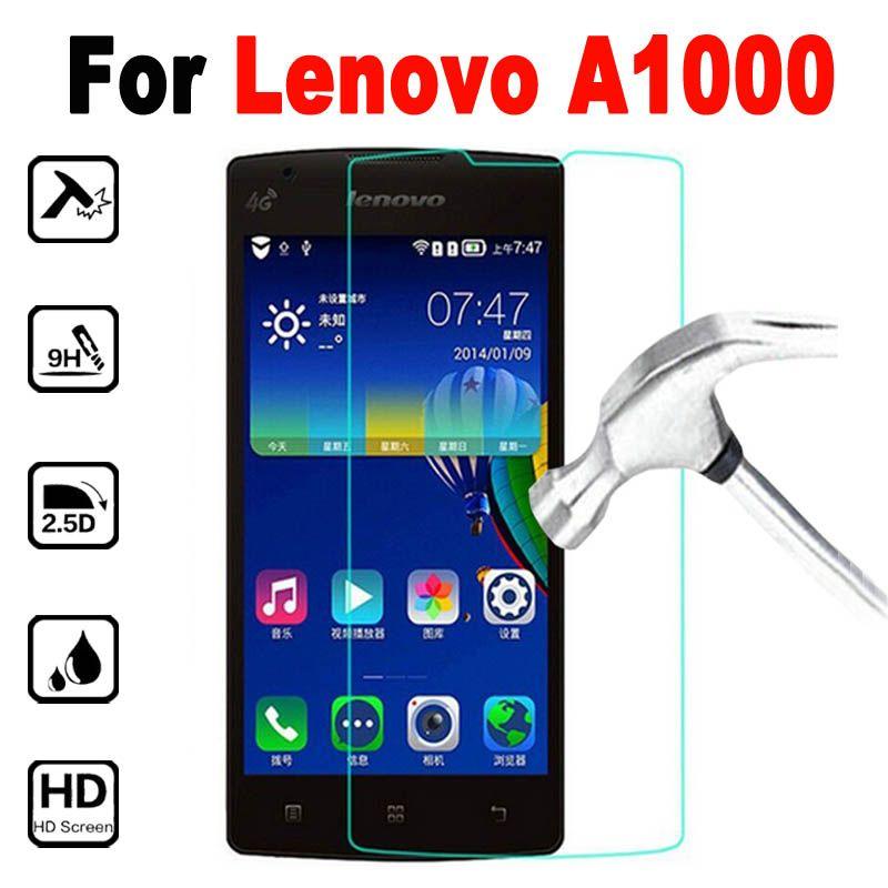 Protection Ecran En Verre Trempe Pour Lenovo A1000 Couverture 40in Protecteur Decran A 1000 2800 A2800 Moblie Telephone Film