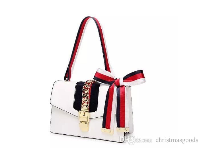 e4f974a318f Wholesale New Lock Women Bag High Quality PU Leather Women Messenger Bags  Casual Crossbody Bag Striped Starp Satchel Bolsa Feminina Mens Shoulder Bags  ...
