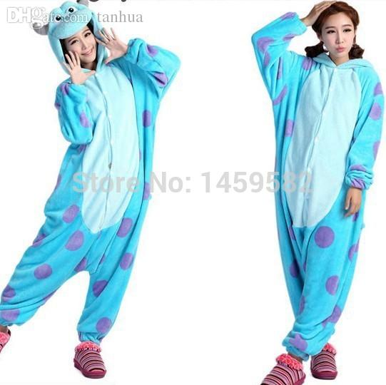 Wholesale New Unisex Adult Sully Pajamas Cosplay Costume Animal Onesie Monsters University Mike Sulley Sleepwear Anime Cosplay Men Cosplay Masks For Sale ...  sc 1 st  DHgate.com & Wholesale New Unisex Adult Sully Pajamas Cosplay Costume Animal ...