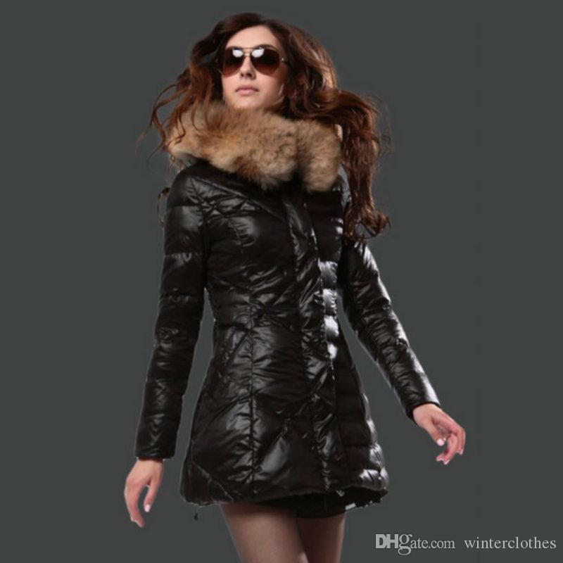 2017 Luxury Brands Winter Coat Women Fashion Style Down Jacket ...