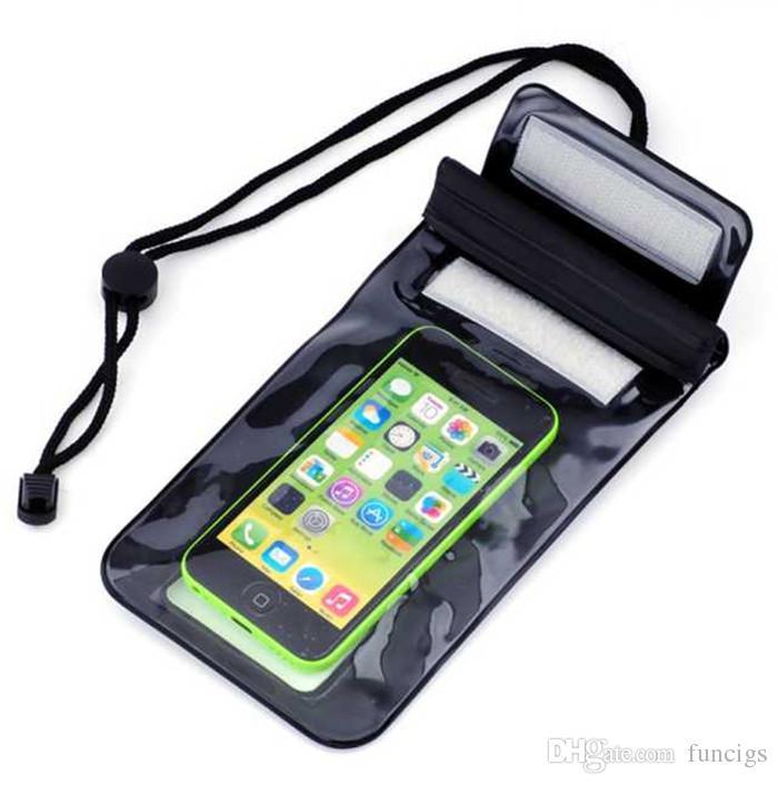 Cassa impermeabile del telefono cellulare delle borse di estate di prezzi di fabbrica la cassa impermeabile della copertura del telefono cellulare di Samsung / HTC / Huawei / Samsung