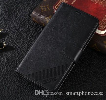 Cool Huawei Enjoy 5S Custodia a portafoglio Custodia a conchiglia Custodia in pelle di lusso sottile Huawei Ascend Godetevi 5S