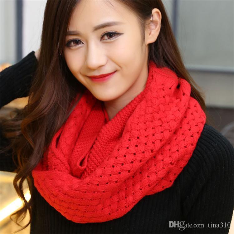 New Fashion winter Ring Scarves imitation cashmere Plaid scarf Unisex Scarf warm Costume Scarves Christmas scarfs Gift B0616
