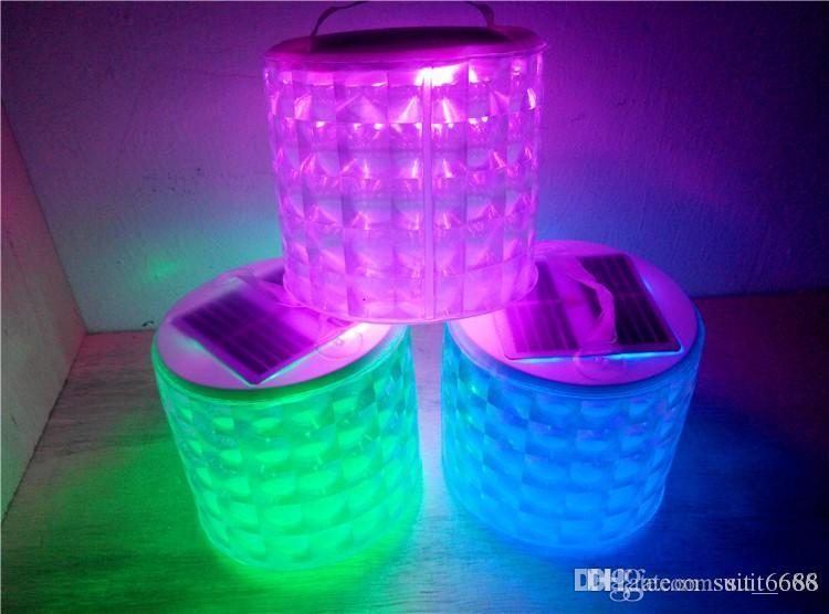 Acheter Livraison Gratuite Whicolorful Gonflable Lumière Solaire Led ...