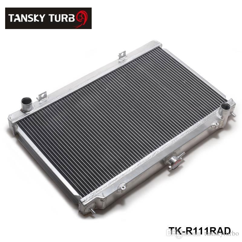 Tansky-Manual Racing Aluminium Radiateur Ajustez pour Nissan Silvia S14 S15 SR20Det 240sx 200sx 200sx 2 rangée 50mm TK-R111RAD