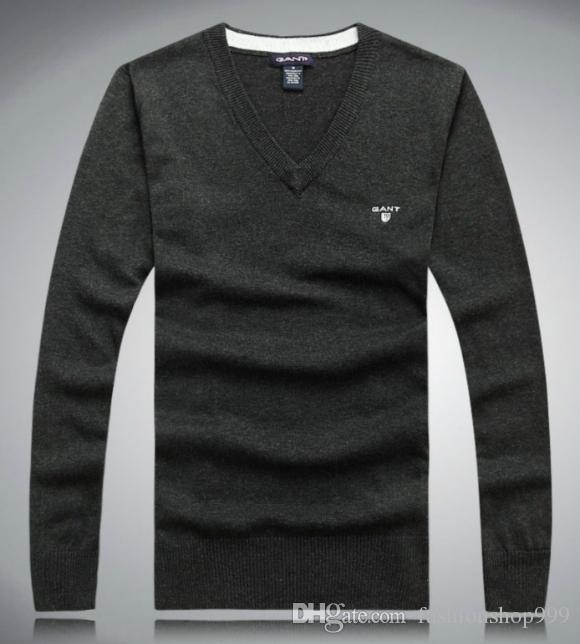 2017 новая мода большой размер мужская с длинным рукавом кашемировые свитера круглый-образным вырезом свитер размер M-XXXL. Бесплатная доставка
