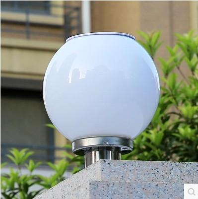 Best quality outdoor solar lights super bright led road spherical best quality outdoor solar lights super bright led road spherical cell wall garden landscape column round headlights at cheap price online solar lamps aloadofball Images