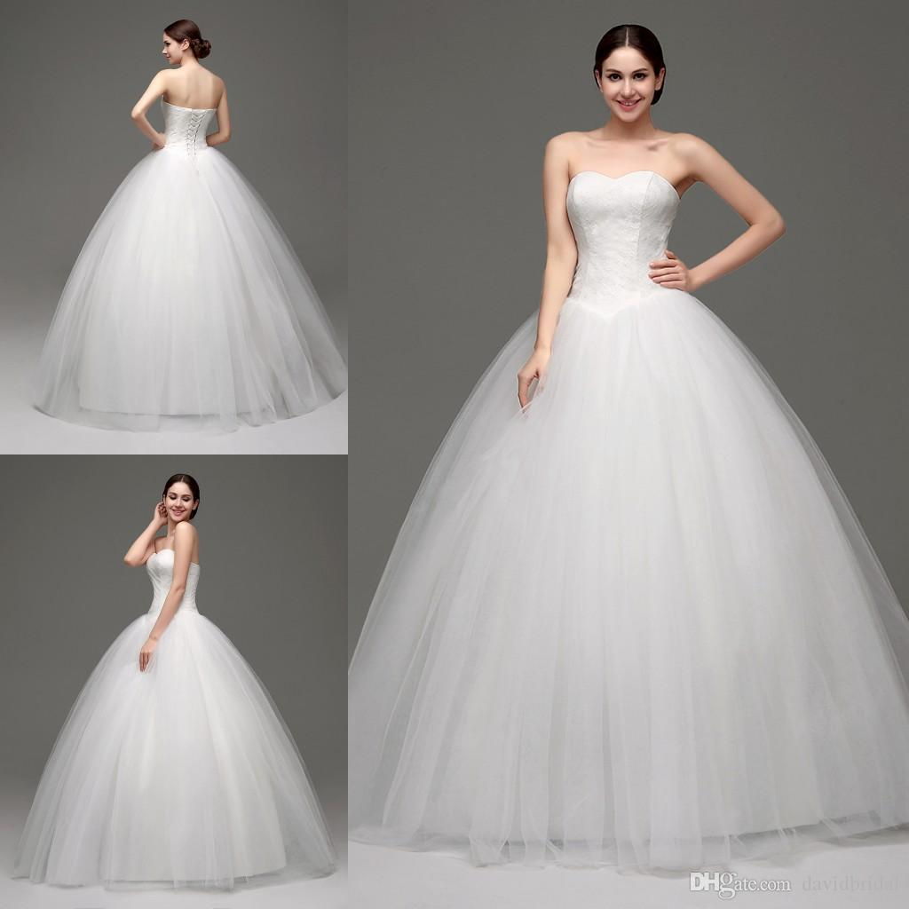 2016 New Arrival Real Photo Sweetheart Plus Size Ball Gown Wedding Dresses  With Boning Lace Tulle Skirts Back Lace Up Prefect For You Cheap Plus Size   2016 New Arrival Real Photo Sweetheart Plus Size Ball Gown Wedding  . Plus Size Sweetheart Wedding Dresses. Home Design Ideas