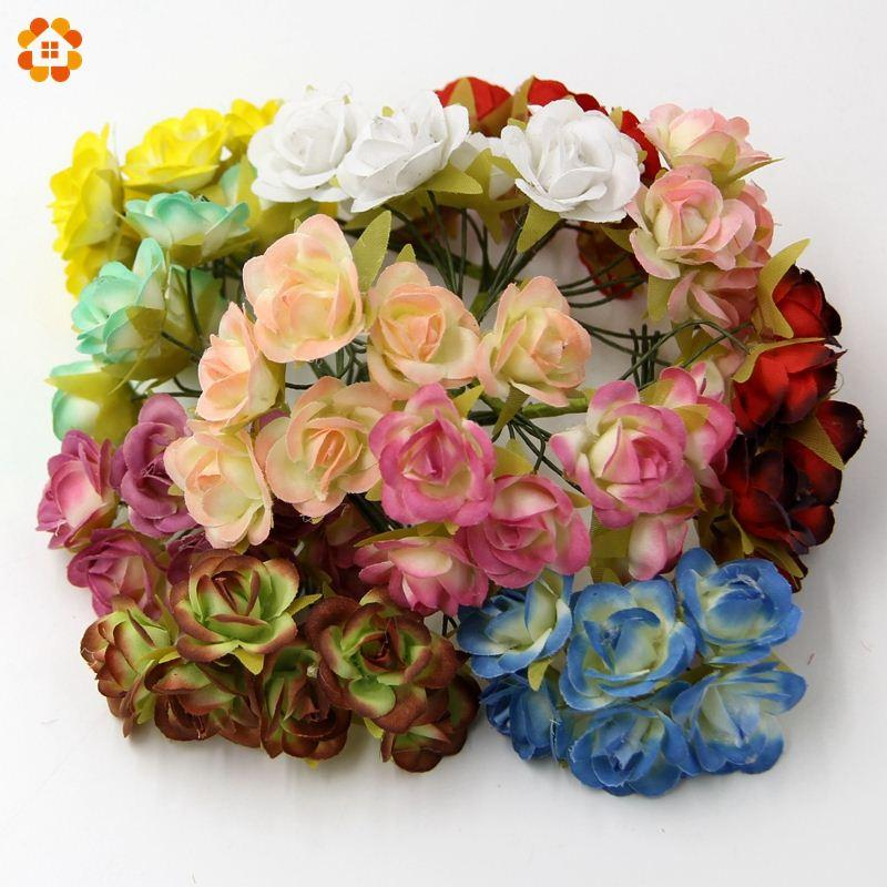 Diy mini silk artificial flowers bouquet for home wedding party diy mini silk artificial flowers bouquet for home wedding party wedding car decoration scrapbooking wreath fake flowers high quality flower wool china mightylinksfo