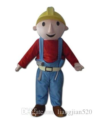 278cefa94a058 New Architect Babu Mascot Costume Cartoon DollAdult Size Fancy Dress Party  Good quality and cheap price Factory Direct Free Shipping