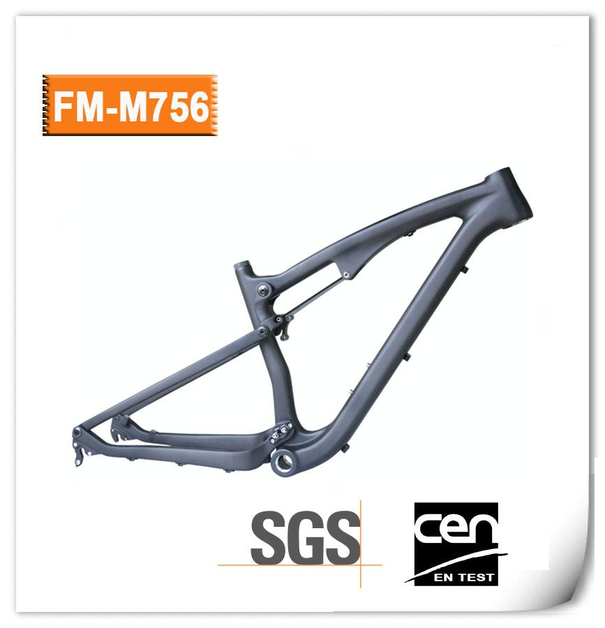2018 New 27.5er Full Suspension Mountain Bike Frame 165x38mm 650B ...