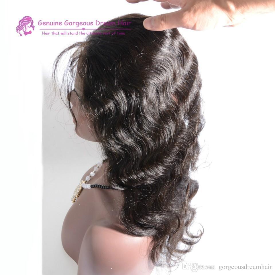 Brezilyalı insan saçı 360 dantel frontal vücut dalga güzellik ücretsiz bölüm işlenmemiş insan saçı 22