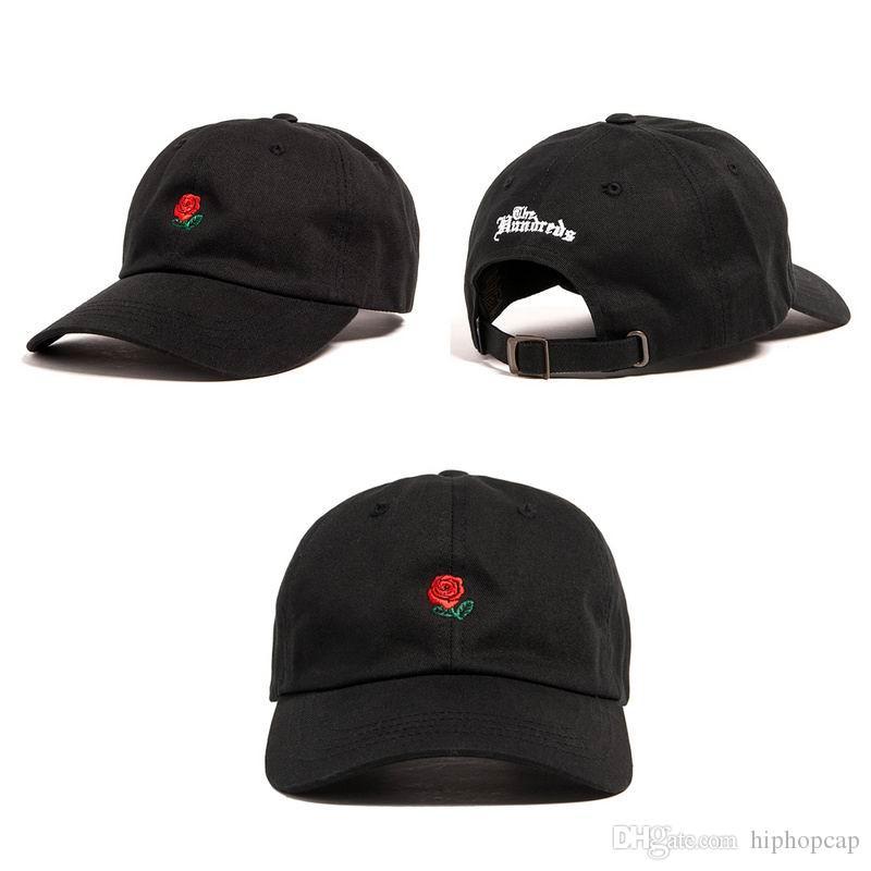 Russian The Hundreds Rose Cap Fashion Snapback Baseball Caps Men ... 2bf03483055a