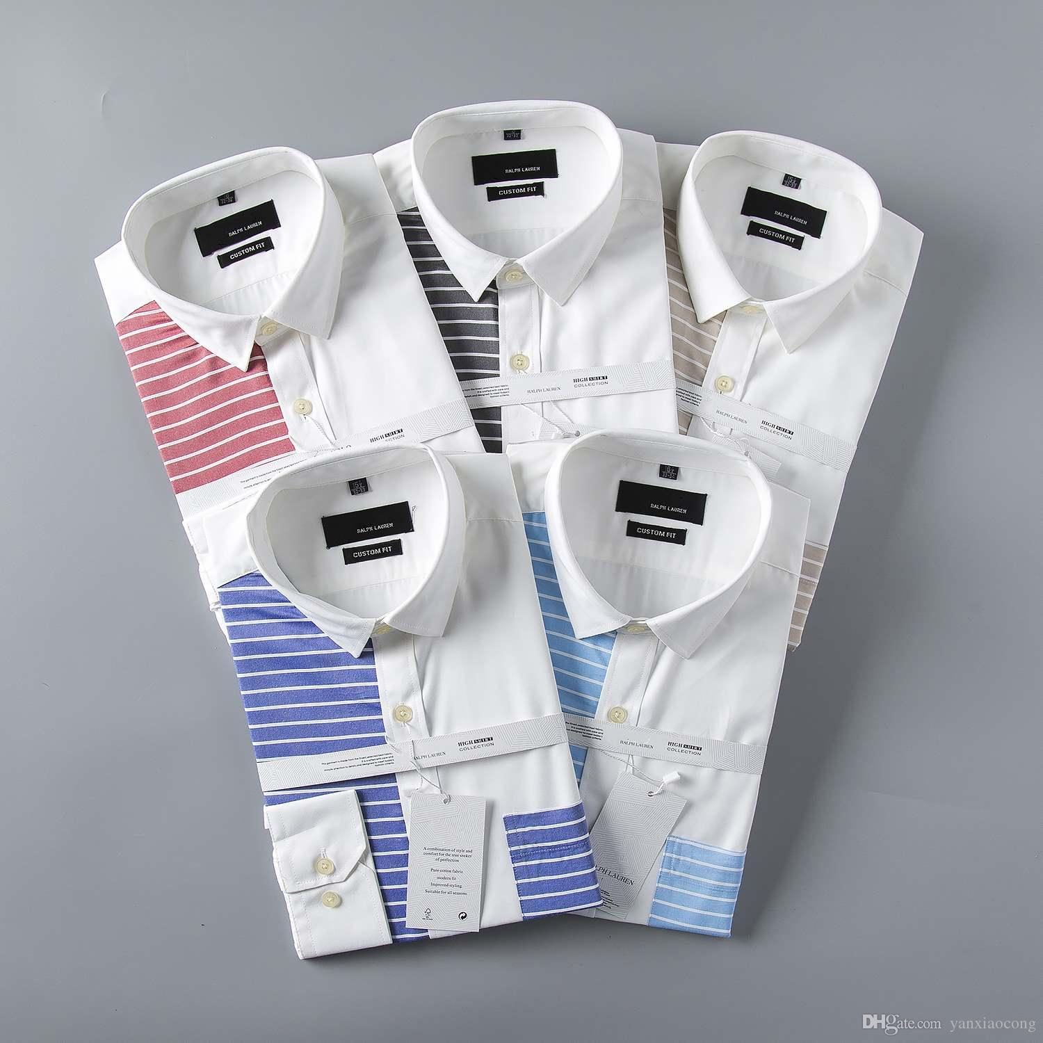 Mens Dress Shirts Online Sale Wholesale New 2017 High Quality Mens
