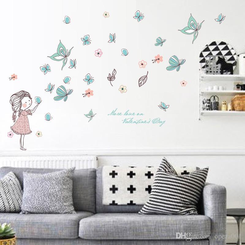 148cm X103cm Kids Growth Chart Height Measure Wall Sticker Good