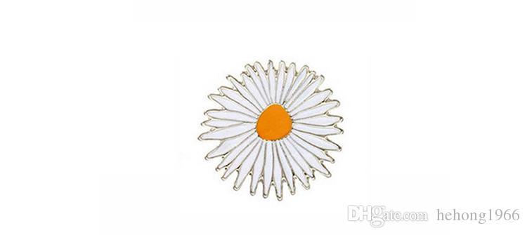 Esmalte Pin Metal Globo Letra Sunny Badge Crisantemo Flower Bang Broche Universal Compacto Alta Calidad 1 2yxa B R