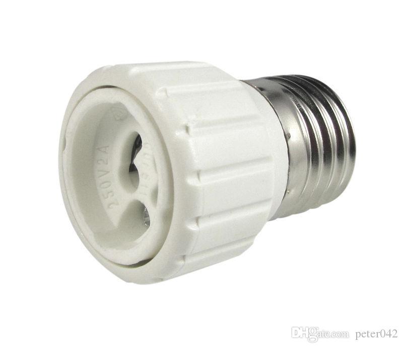 500 STÜCKE E27 E26 zu GU10 buchse Schraubsockel LED Lampe Licht lampe Adapter Konverter