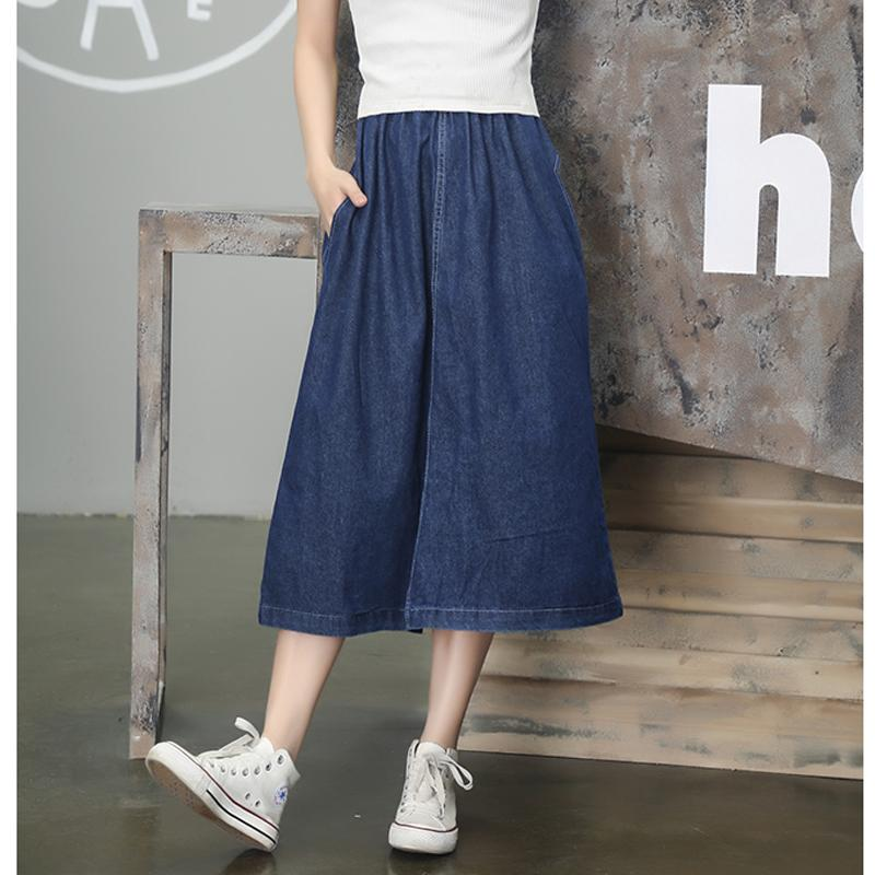 2017 Summer Fashion Jean Skirt Women Boyfriend Syle Jeans Lady ...