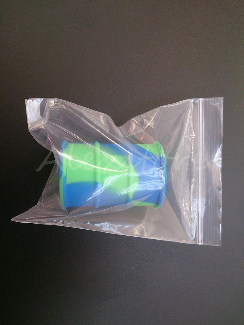 Abdichtung PP PE Polypropylen Durchsichtige Plastiktüten 129 * 93mm15 Drahtsack mit Reißverschluss Heißsiegel für japanische Baumwolle / DHL