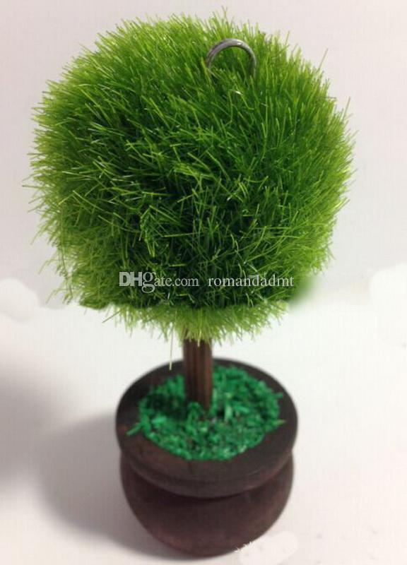 Zielone Bonsy Ball Tree Bonsai Place Karty Uchwyt Klipsowy Nazwa Stół Ślub Favors Party Prezenty DHL Darmowa Wysyłka