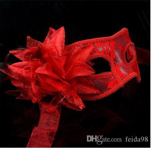 2016 neue Party Maske Halbe Gesichtsmasken Mit Pailletten Masquerade Masken Für Erwachsene Festival Verschleiß
