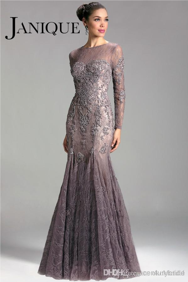 Elegant lace mother of the bride dresses