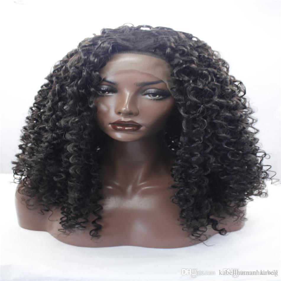 Lace Front Wig Best Quality Short Curly Wigs