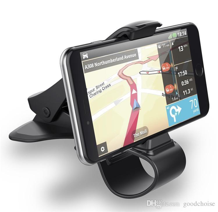 Universal Car Mount Holder Simulating Design Car Phone Holder Cradle Ajustable Tablero de teléfono Montaje para una conducción segura