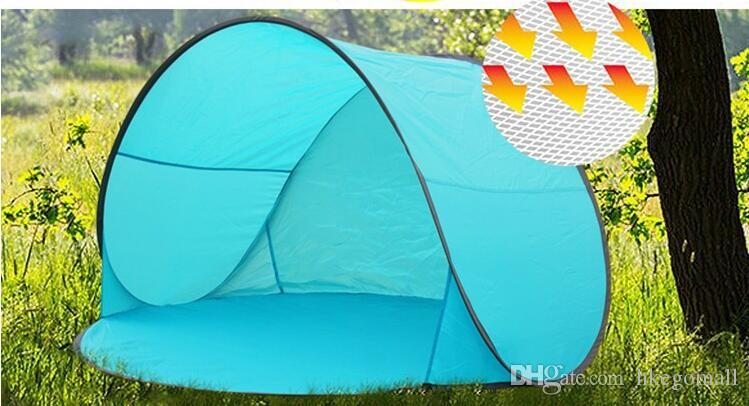 Automatic Pop Up 2 Person Beach Uv Sun Shelter Shade Outdoor C&ing Tourism Folding Awnings Fishing Waterproof Canopy Awning Adopting A Dog From A Shelter ... : beach tent for dogs - memphite.com